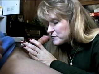 Mature blow-job From 90s