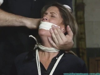 Rose-red Velvet Grabbed Spanked plus Gagged turn over plus turn over fixing 2
