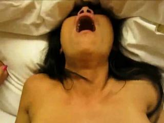 Unskilled Asian MILF Facial