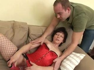 Wild grandmother Gets Her unshaved cooch orgy