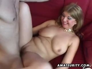Large-Bosomed inexperienced porno housewife ass fucking stiff romp