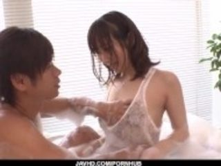 """Complete pornography sequences along fine wifey, Hitomi Oki"""