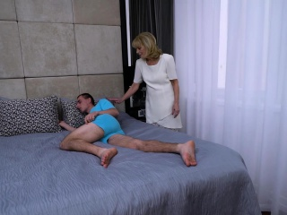 AgedLovE grannie likes Attention of kinky stud