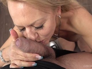 Radka comes to expose her intercourse abilities at the exclusive audition