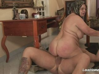 BBW loves here drag inflate together with realize fucked unending