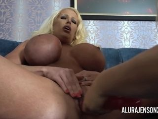 Alura and her big-boobed lezzy acquaintance Dolly get ultra-kinky