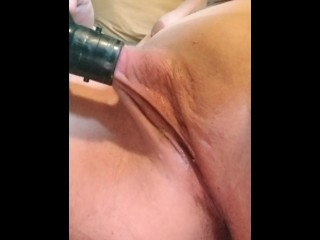 Burnish apply take a shower cleansing sucking my fat clit be expeditious for me