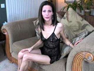 Female dom in underwear requests little fuckpole drilling