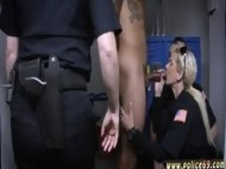 Police total vid and blond cougar lures Don t be dark-hued and suspicious around ebony