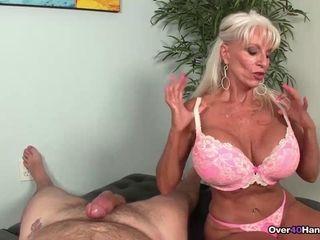 Grandma oral job compete Sally tantalizes His gigantic