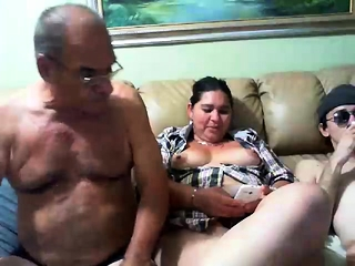 Mature cougar With immense tits