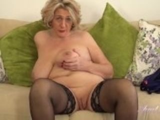 """Busty 45yo aunt Camilla JOI"""