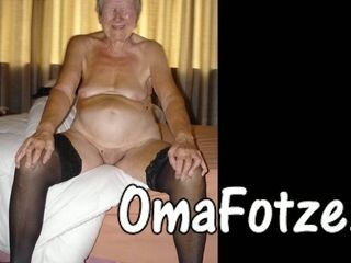 OmaFotzE Compilation be proper of crude Granny Photos