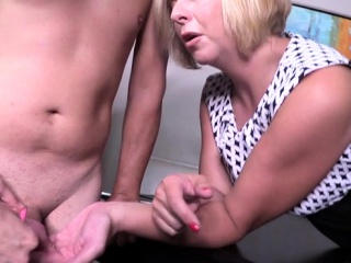 Steaming wifey female dominance and jizz flow