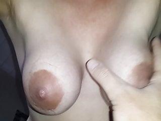 Wifes suspending breasts