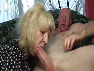 Extraordinary gross 83 years elderly mommy ginormous penis humped