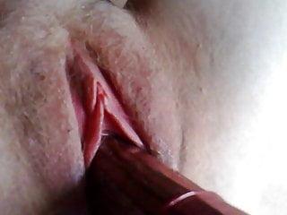 Cucumber plumbing rosy vagina 20100817 Helene