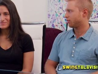 Duo s first-ever swinger practice on TV