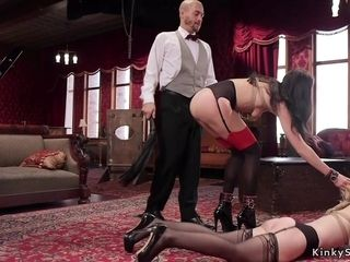 Tormentor whips and ass fucking nails 2 victims