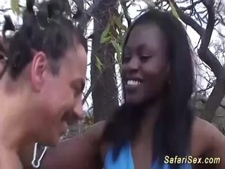 African stunners first-ever sadism & masochism lesson