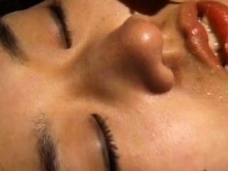 Lovely japan bombshell faceholes rock-hard before being rectal boned