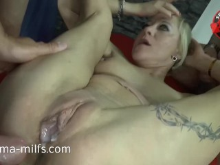 Anal Cum Orgy be advantageous to Sperma Milf Klara