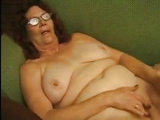 Elderly Granny Masturbates