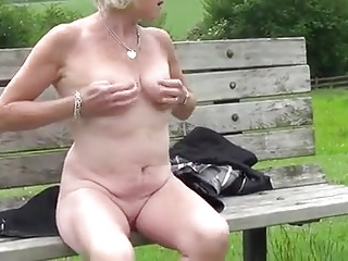 XXX Granny with respect to Heels abroad