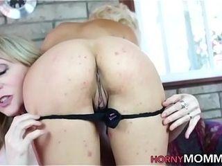 Mature step-mom slaps