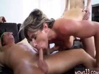 Thin blondie wifey step-mother Turns moist desires Into Reality