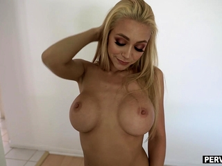 Pranking my fresh meaty boobed cougar step-mom to the maximum