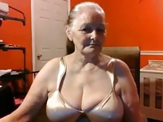 Grandma 68 length of existence superannuated nearly chubby jugs