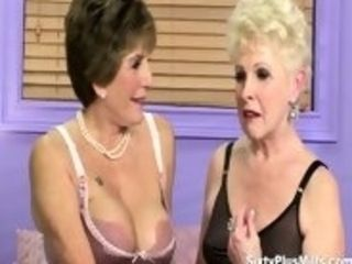 Conversation with 2 ultra-kinky huge-titted cougars