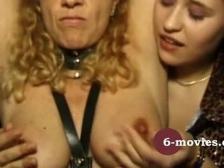 6 movies com Fetish GangBang in Latex and Leather