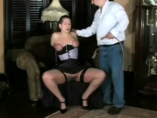 Mix up of xxx fuck-a-thon clamps from inexperienced domination & submission movies