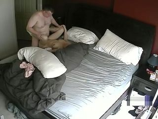 Cougar pounding in apartment Hacked web cam