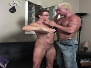 Muscled couple have hot porn