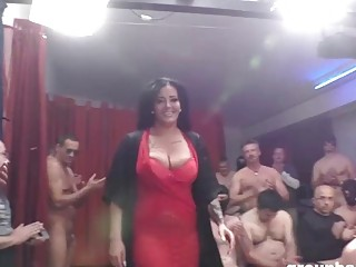 Ashley Cumstar Groupbanged in All Her Glory fuckholes