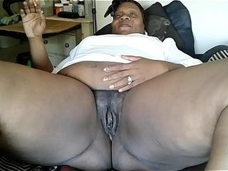 Aunt Dee 55yrs elderly far 63Inche pest together with Phat prudish Pussy