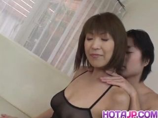 Jun Kusanagi Asian milf gets marketable pussy masturbat one's disposaled Canada rubbish gangbang affiliat one's disposaled to back at one&#0