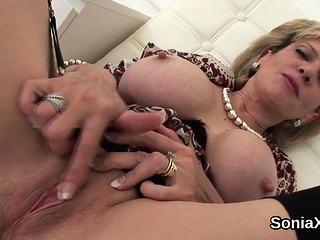 Traitorous creditably milf young gentleman sonia unveils their way mammoth breas