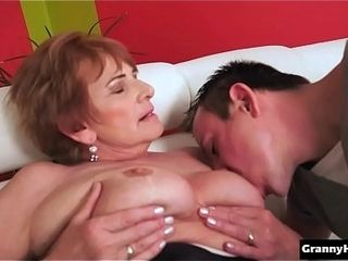 Super-fucking-hot grandmother ravaged rock hard