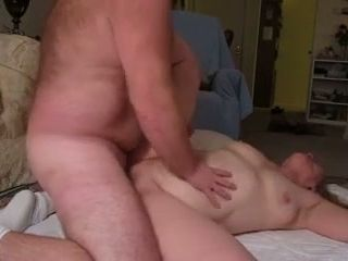 Pallid chunky mature nympho was nailed doggy style hard enough