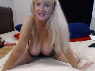 This granny is duo plump webcam harpy coupled with she loves riding say no to dildo