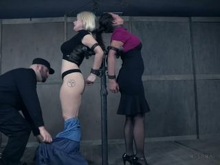 Freak is penalizing platinum-blonde and chinese escorts in the dark dungeon space