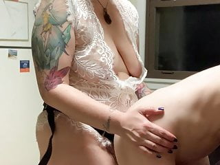 Bodacious wifey Pegs and smacks Her Trans hubby (MrsDommeRee)
