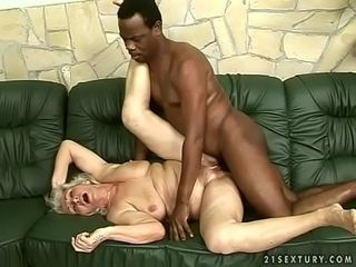 Interracial granny lady-love
