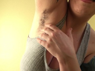 Furry underarms Jerk Off Instructions
