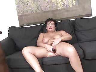 Grandmother gonzo smashed by ebony dude in her cock-squeezing backside likes A