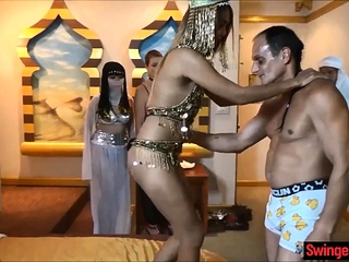 Man with a harem shares his 3 wives to thank him